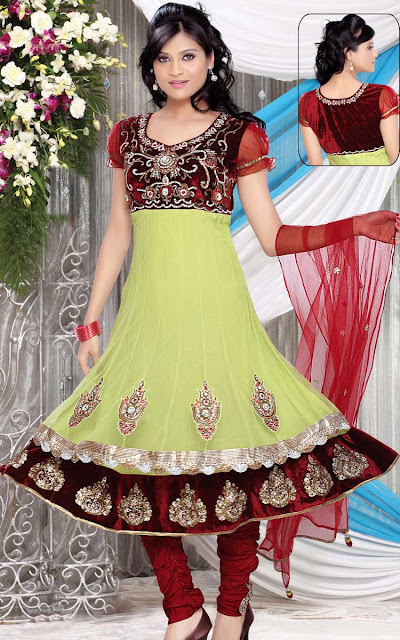 Wedding-Churidar-Salwar-Kameez