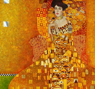 Quadro Adele de Gustav Klimt, filme A mulher de ouro