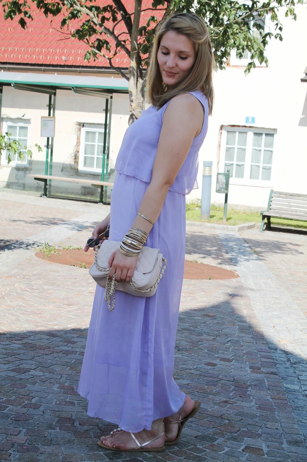 Fashionblogger Austria / Österreich / Deutsch / German / Kärnten / Carinthia / Klagenfurt / Köttmannsdorf / Spring Look / Classy / Edgy / Summer / Summer Style 2014 / Summer Look / Fashionista Look / Oasap / Maxi Dress / Maxi Kleid / Asos / Persunmall / Tally Weijl / essence / Ray Ban /