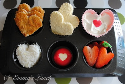 valentines day heart shaped food