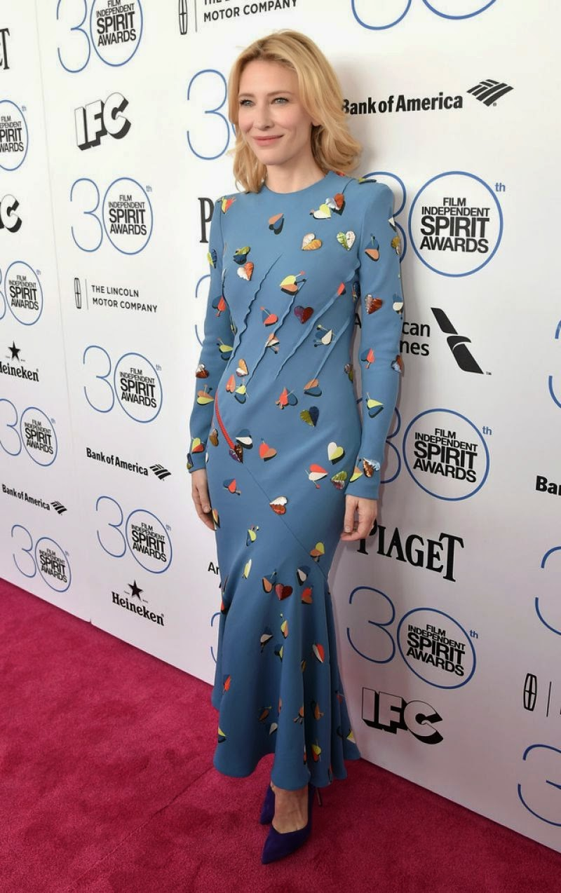 Actress: Cate Blanchett - 2015 Film Independent Spirit Awards in Santa Monica