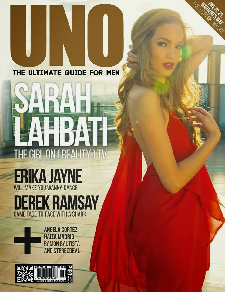 Actress @ Sarah Lahbati For UNO Mag March 2015