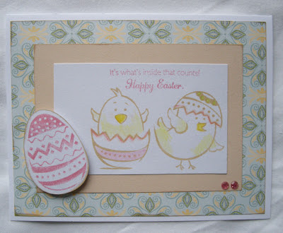 Create with Care CTMH Chantilly Easter Card