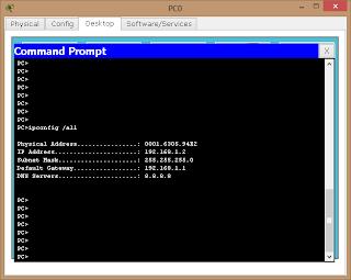 Хост получил IP адрес от DHCP сервера