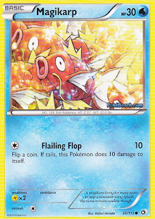 Magikarp Legendary Treasures Pokemon Card