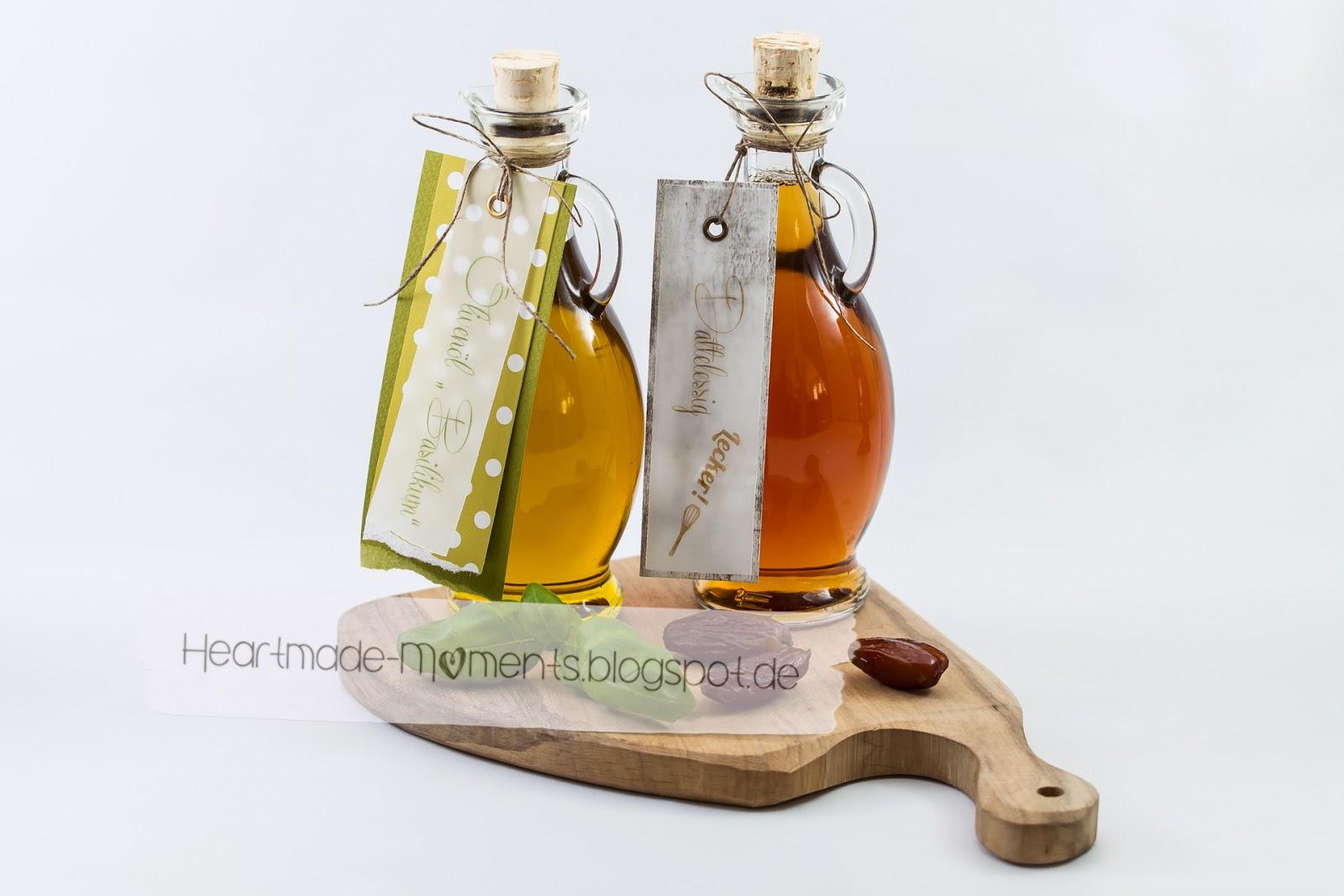 Essig und Öl im Set