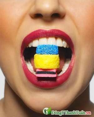 Thực phẩm chứa nhiều đường nguyên nhân gây sâu răng