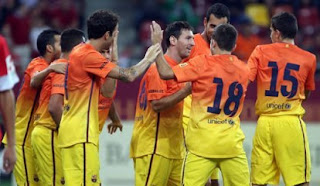 Prediksi Skor Real Valladolid vs Barcelona 22 Desember 2012