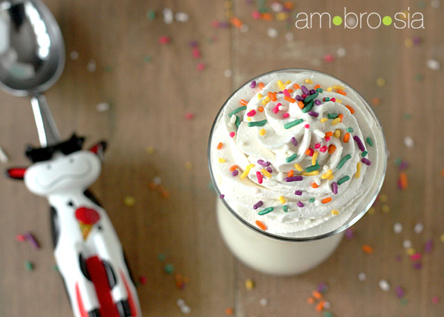 Cupcake Milkshake