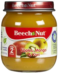 Beech Nut Baby Food Spianch