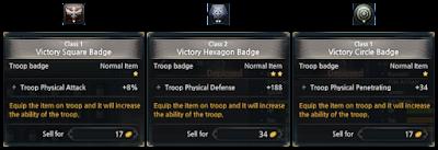 KUF2 - Troop Badges