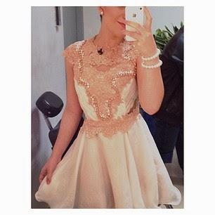 Priscilla ancantara vestido fofo