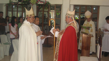 Installation of Rt. Rev. Frederick Luis M.Belmonte the First Archbishop of ACP.