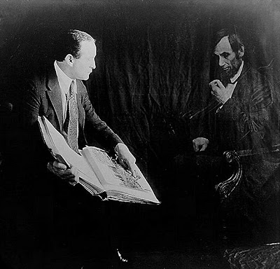 Houdini and President Abraham Lincoln