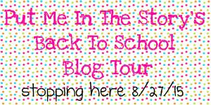 Back To School Blog Tour from Put Me In The Story