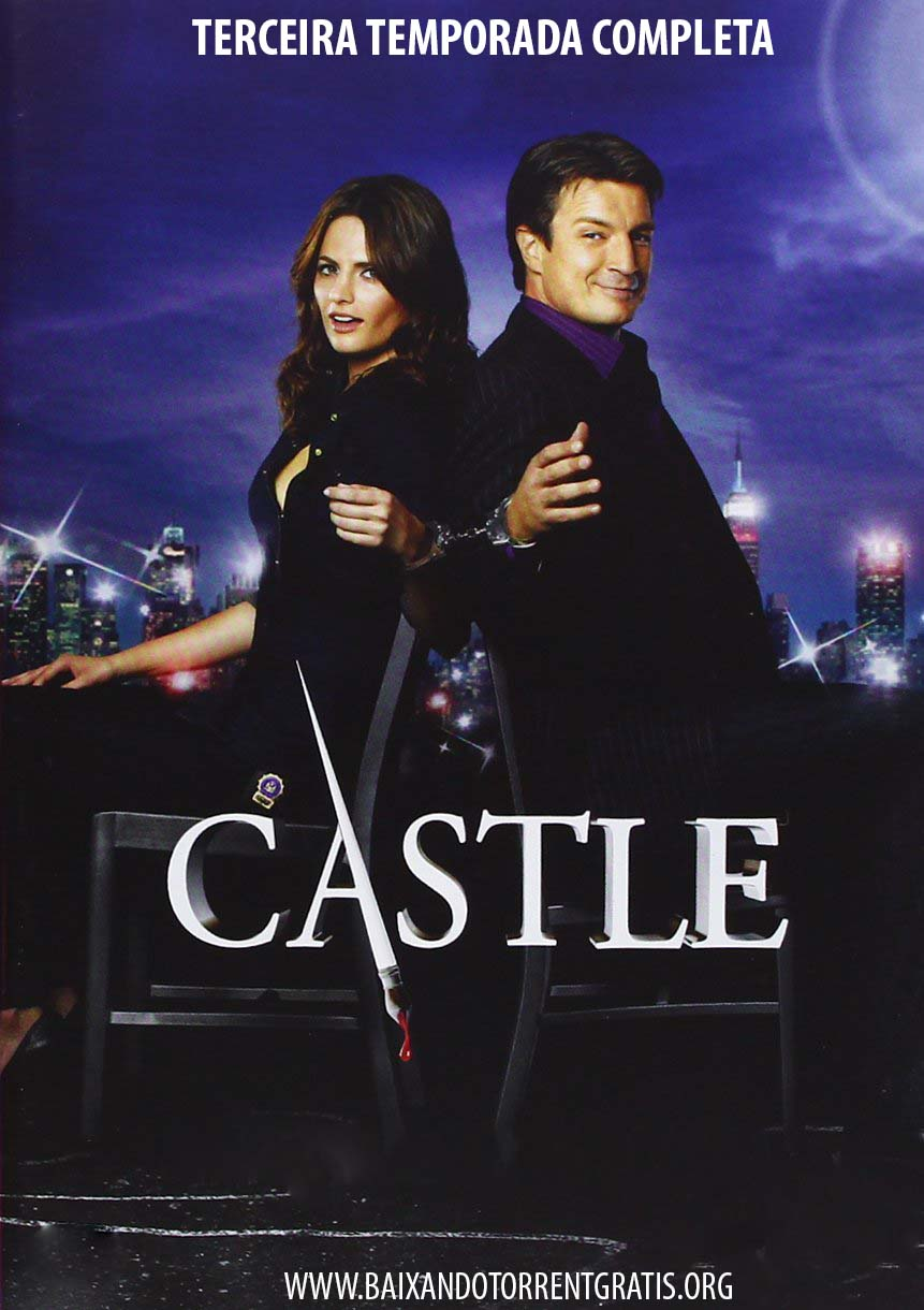 Castle 3ª Temporada Torrent - BluRay 720p Dublado