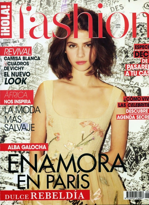 Fashion Model @ Alba Galocha - Hola Fashion Spain, April 2015