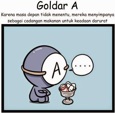 Komik Golongan Darah A
