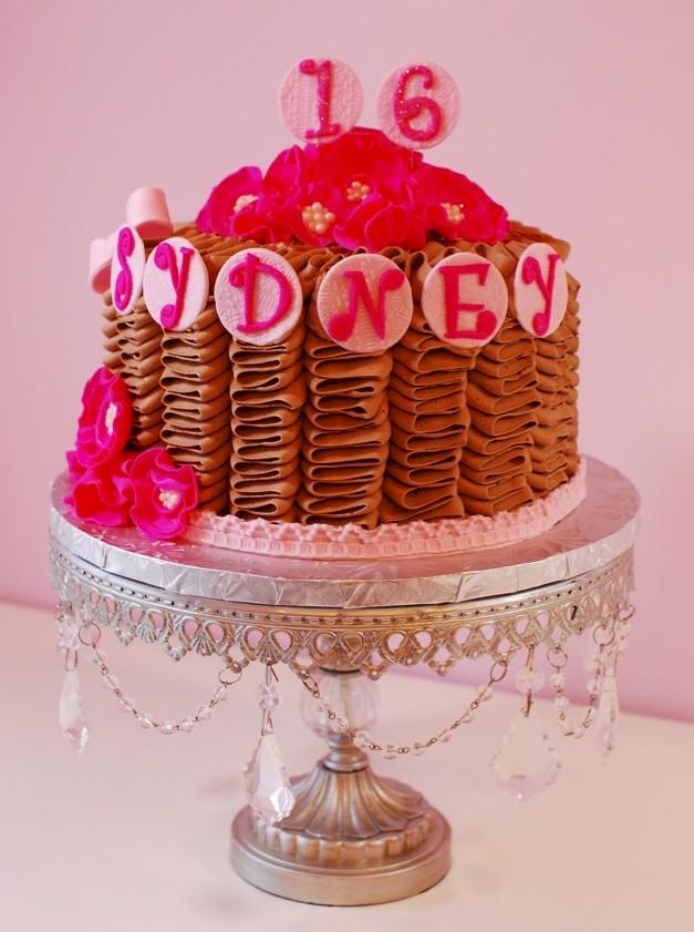 Sydneys Sweet 16 Cake