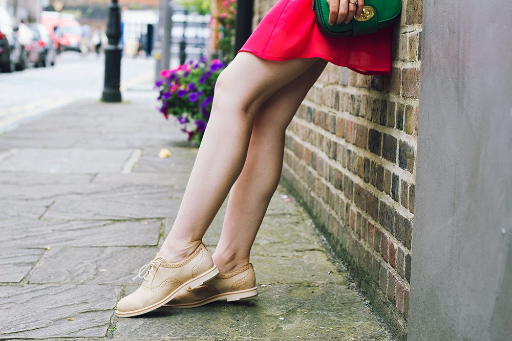 uk style blogger brogues london fashion