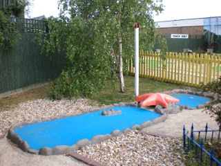 Miniature Golf at The Golden Palm Resort Skegness
