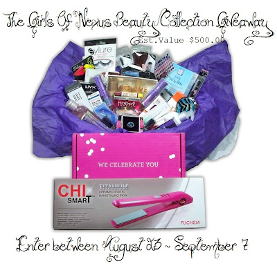 Girls Of Nexus Beauty Collection Giveaway
