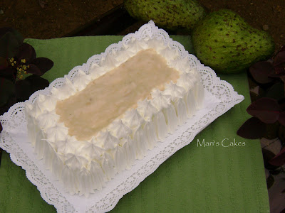 Soursop Cake Recipe