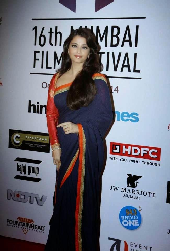 Aishwarya Rai At 16th Mumbai Film Festival Opening Ceremony