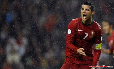 Cuplikan Video dan Hasil Pertandingan Portugal vs Irlandia Utara 1-1 17 Oktober 2012