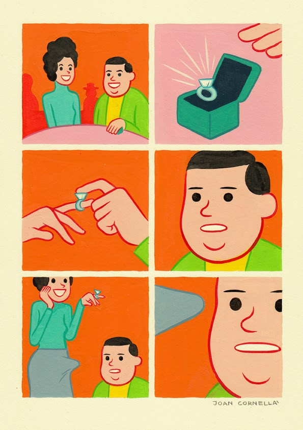 Page 1 | Joan Cornellà - Fitboagh. Published by Trony on Saturday, 20 December 2014 in Art and Design (Design's Factory)
