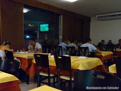 Yakisoba Restaurante Oriental: Ambiente interno