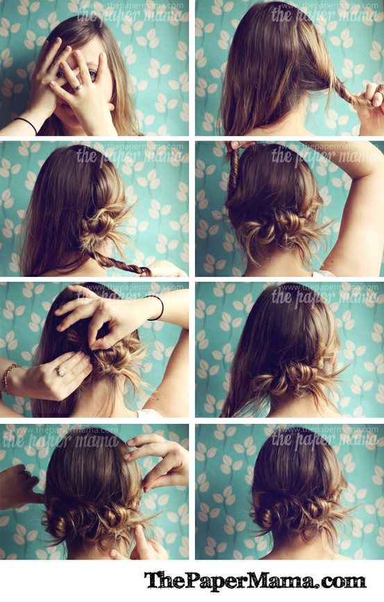 walk with me, darling: pretty easy hair tutorial