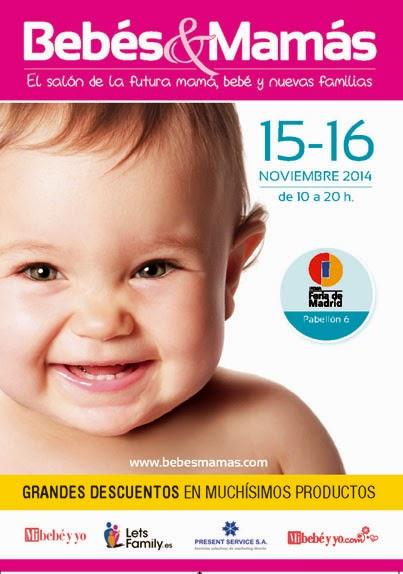Cartel de la Feria BEBÉS&MAMÁS