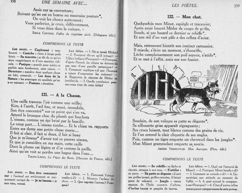 Manuels anciens choix de po sies berry lecture cm - Effroyables jardins questionnaire de lecture ...