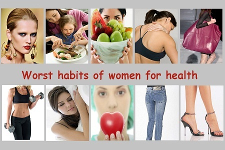 Top Worst Habits of Women for Health