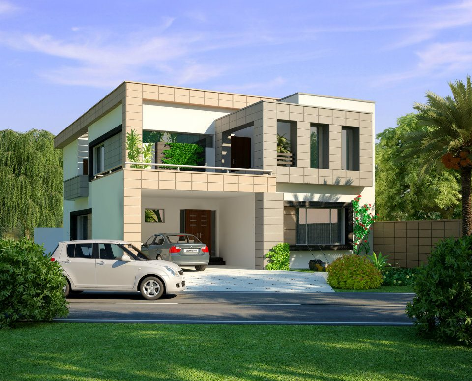 10 marla house design Lahore - Houses - Apartments for Sale