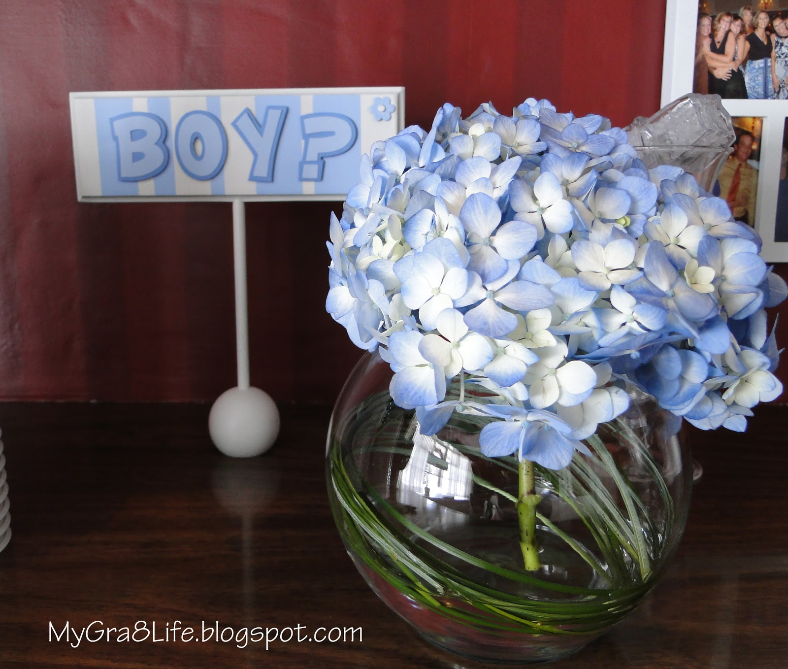 My Gra 8 Life: PINK and BLUE Baby Shower