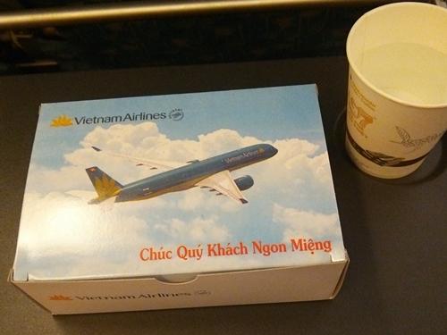 Inflight-meal  VN1560 ニャチャン―ハノイ (ベトナム国内線)