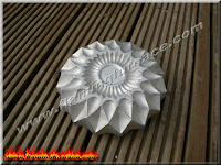 casting solid aluminum ashtray
