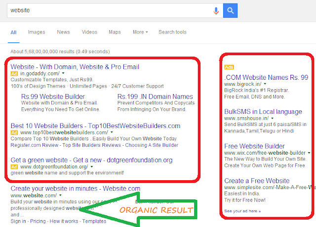 Google-Paid-Search-Results