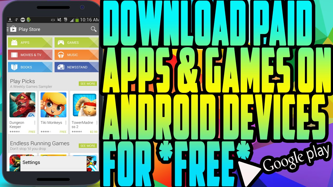 download apps and games for android