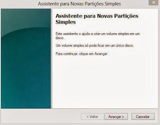 Como criar partição no Windows 8