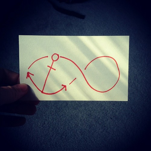 Anchor Infinity Tattoo