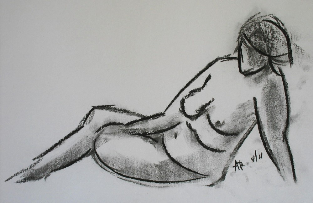 Russian Life Drawing as The Drawings Were Quick