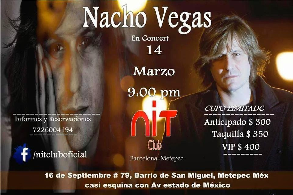 Nacho Vegas en Metepec!