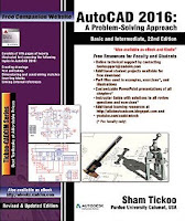 AutoCAD 2016: A Problem - Solving Approach, Basic and Intermediate, 22nd Edition