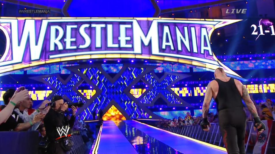 Wrestlemania xxx results afterthoughts let 39 s talk for Mercedes benz superdome wrestlemania 30
