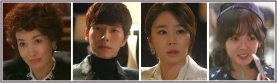 Na Young Hee, Park Hae Jin, Yoo In Na and Kim Bo Mi as the supporting cast of You Who Came From the Stars aka My Love From Another Star.