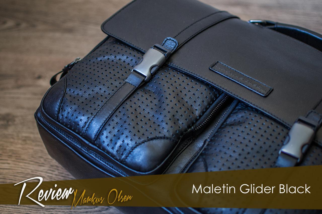 Review Maletín Glider Black de Markus Olsen.