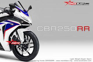 Hasil Renderan Honda CBR250RR RWB MotoBlast Kereeeeen Bro !!!